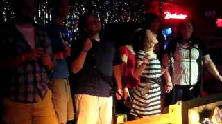 2010-4-17 the Karaoke Barn at its best