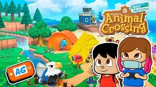 Manuel visita mi ISLA en Animal Crossing New Horizons 🏝   con BigManu PRO