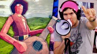 Solo ESTE Idiota Lleva Una Guitarra A LA GUERRA !!
