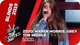 Zedd Maren Morris Grey The Middle Blind Auditions The Voice Kids 2019 SAT 1