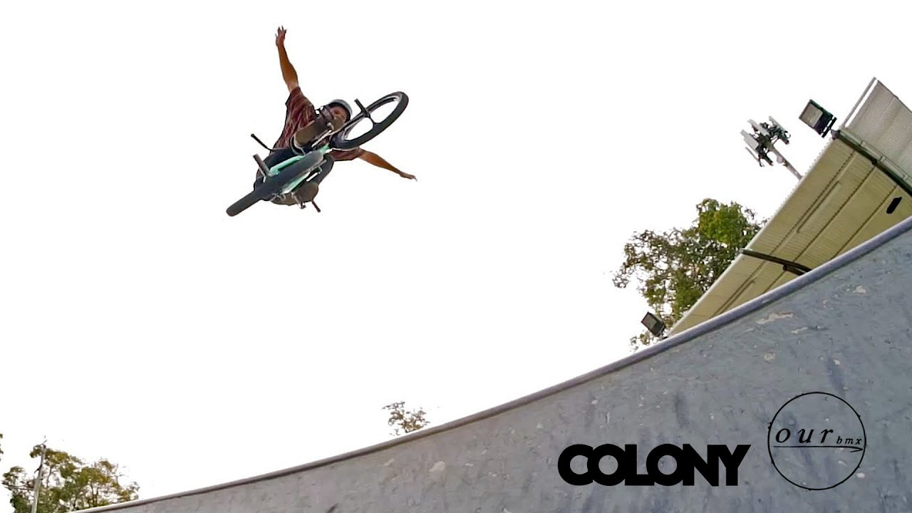 "PARK DESTROYER - PATERICO FALLICO  // ""Take A Ticket"" - Colony BMX"