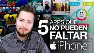 5 apps que no pueden faltar en tu iPhone