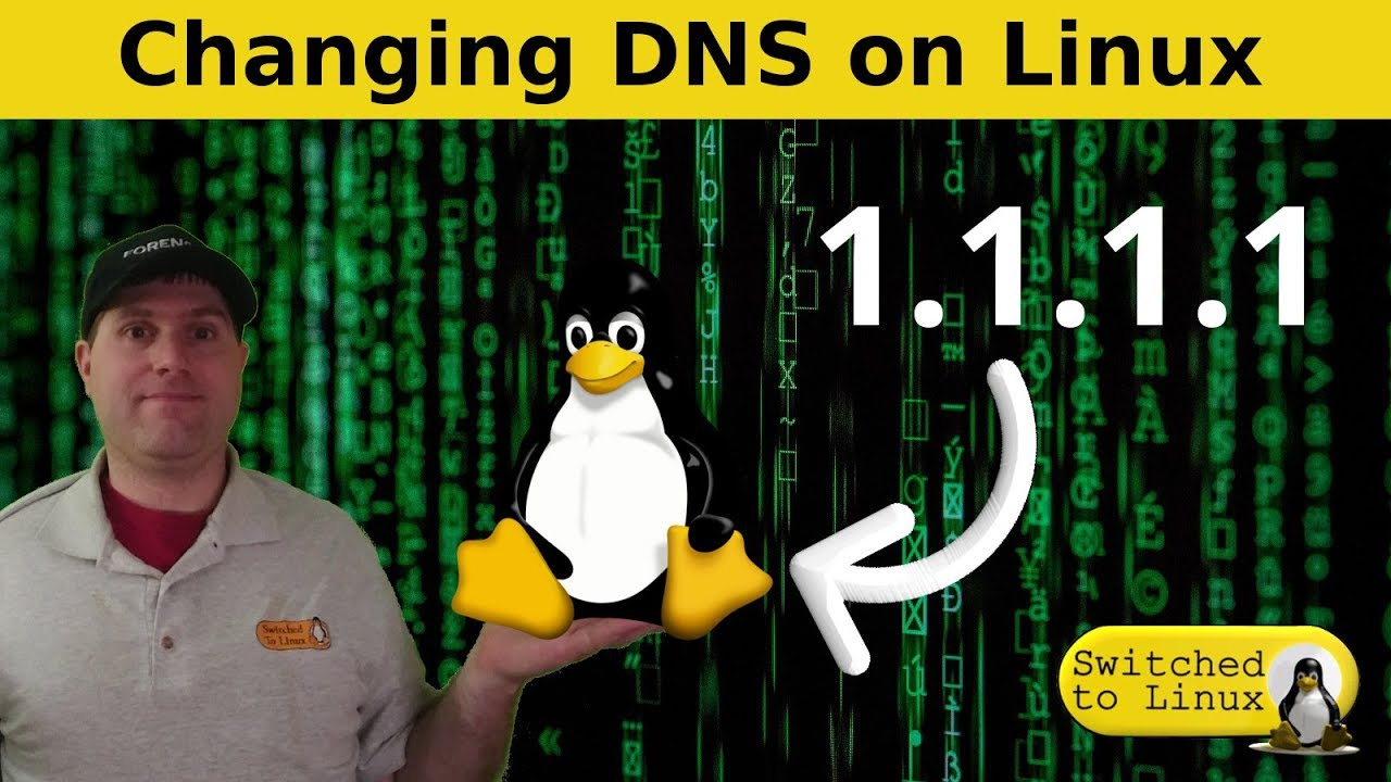 Changing DNS on MX Linux (or any XFCE)