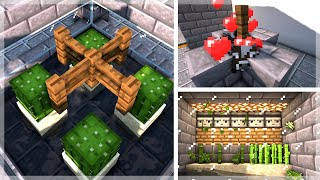 Minecraft: 9 Must Have Starter Farms | Simple Survival Farms