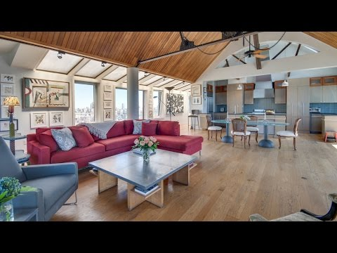 Brown Harris Stevens Presents A Unique Penthouse Loft