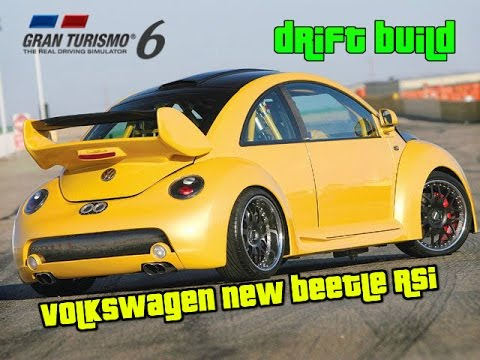 gran turismo 6 drift build volkswagen new beetle rsi drifting build setup youtube. Black Bedroom Furniture Sets. Home Design Ideas