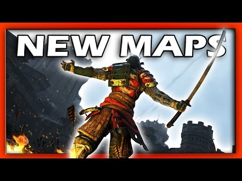 For Honor | New Maps | THE FORGE & TEMPLE GARDEN!