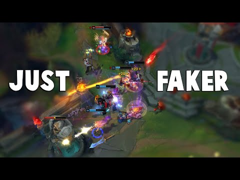 That time when Faker got dived by 5 People and got all of them... | Funny LoL Series #550