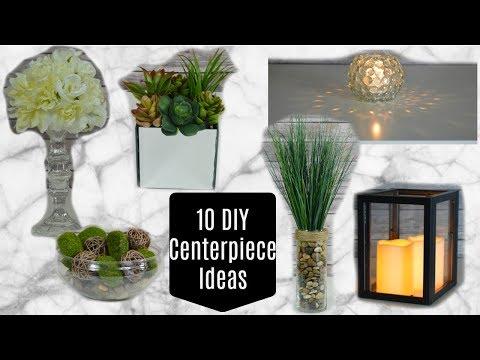 10 DOLLAR TREE DIY CENTERPIECES (or Home Decor)