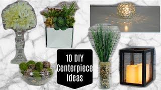 10 DOLLAR TREE DIY CENTERPIECES (or Home Decor)