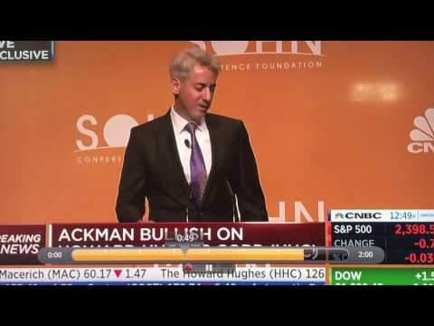 Debunking Bill Ackman's Sohn 2017