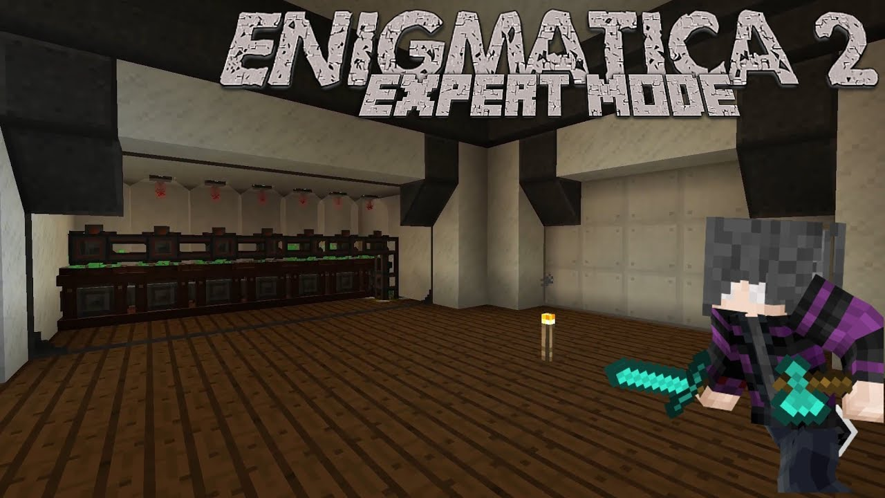 Enigmatica 2: Expert   Episode 19   Cloches & Induction Matrix by Jestyr22