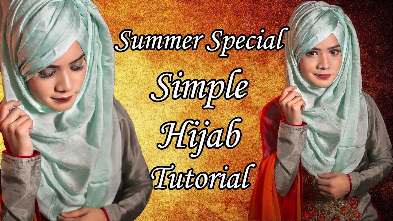 Summer Special Simple Hijab Tutorial 2018 Artikia Youtube