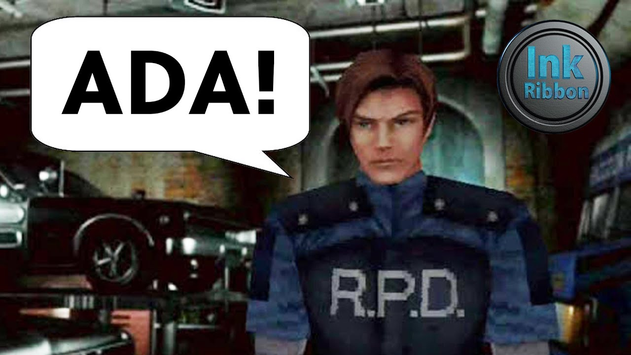 Resident Evil 2 but it's only names