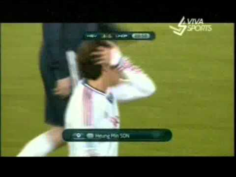 Hamburger All Stars vs Ronaldo & Zidane friends XI 4-5 Amazing Goal Son H-M. [13/12/2011]