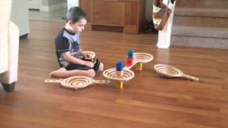 How to Make a Quadrilla Marble Toy