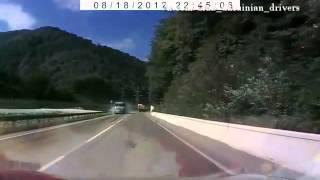 Подборка аварий. Лето 2012. Часть 8