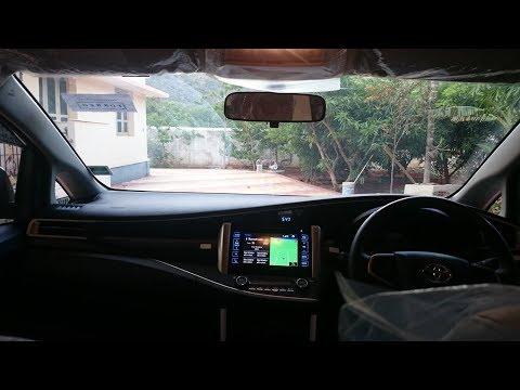 Innova Crysta 2.8Z   Music System   GPS    (Tamil)Audio quality OE  Video playback