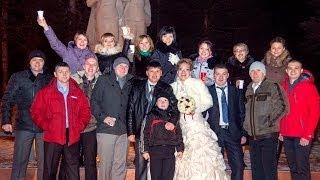 Таня и Саша Усковы-розовая свадьба(Пятлин-Печора)