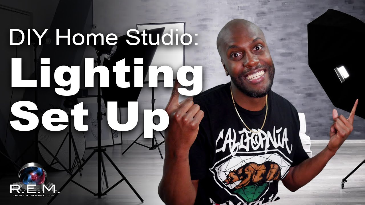 DIY Home Studio | Light Kit