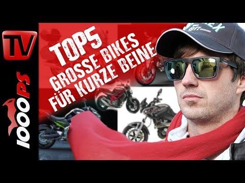 Top 5 - Große Bikes für kurze Beine