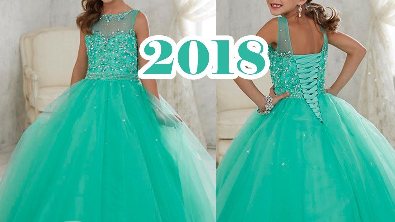 Party Dress 2018 Los Mejores Vestidos De Niñas 2018