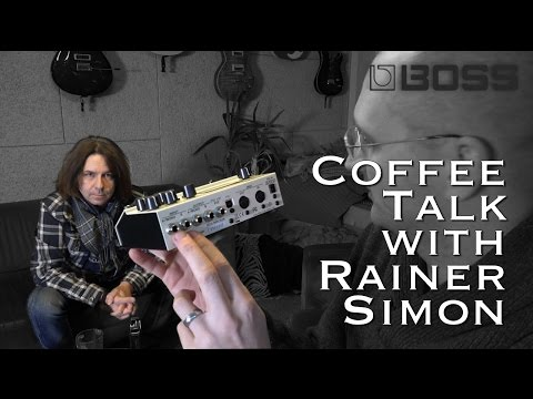 Coffe Talk with Rainer Simon from BOSS