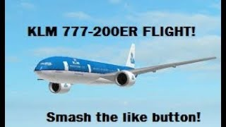 ROBLOX   Boeing B777-300ER KLM Airlines   A Place With Airliners