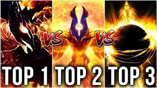 BEST Phoenix Players on Dotabuff - Top 1 vs Top 2 vs Top 3 - Who is the BEST? Dota 2 EPIC Gameplay