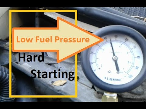 Hard Starting! Fuel System Diagnosis – Pump? Filter? Regulator? Olds Silhouette GM 3.4L V6