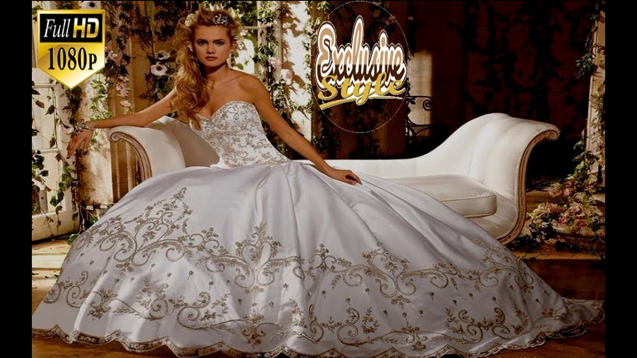 Beautiful And Elegant Wedding Dresses Gowns For 2020