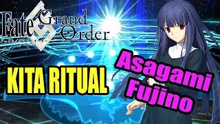 [Fate/Grand Order] Kara no Kyoukai Revival Gacha - Kita Ritual for Asagami Fujino
