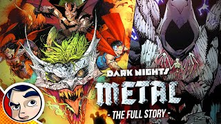 "Dark Nights DC Metal ""Dark Multiverse Batmen Invasion"" - Full Story 