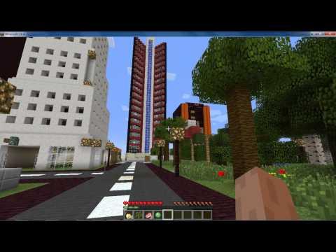 Mappa Minecraft SAO PAULO Brasile HD
