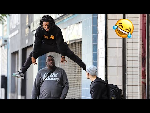 YOU WANNA GET JUMPED!? IN THE HOOD PRANK! (MUST WATCH)