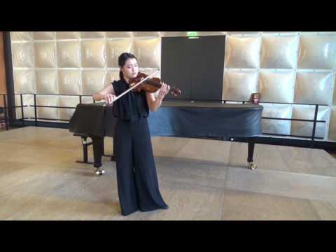 Michiru Matsuyama - Ysaÿe: Sonata for Solo Violin no.4, E minor, 1st mov. | イザイ 無伴奏ソナタ No.4 - 松山総留
