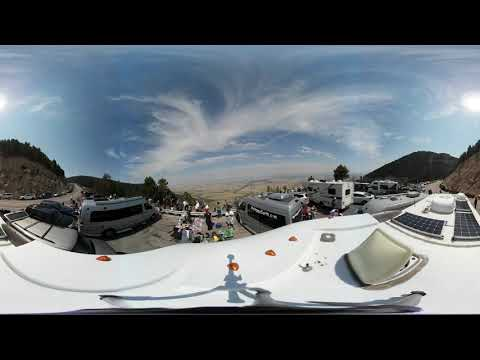 360 Video 4k Total Solar Eclipse Casper Wyoming 2017 Part 1/5