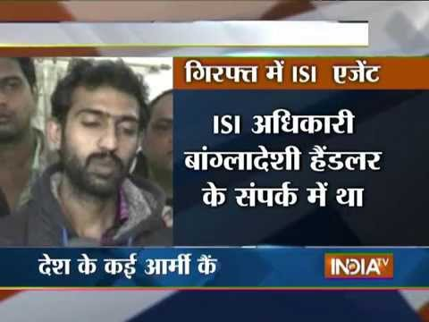 ISI Agent Arrested in UP, Sensitive Documents Related to Indian Army Seized