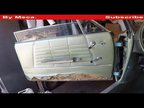 Como Tapizar Los paneles  interiores de Un Impala Clasico  | Reupholster Chevy Impala doors Panels.