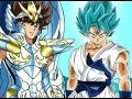 GOKU VS SEIYA ● Armadura divina vs Super Saiyajin blue Mundo Dragon Ball