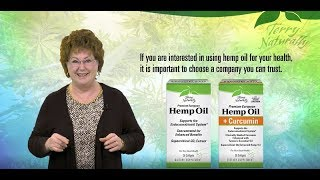Hemp Oil Products | Terry Naturally Vitamins