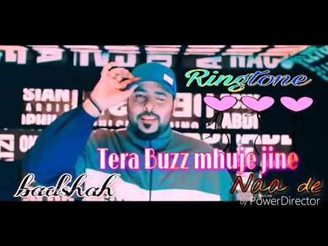 Tera Buzz mujhe jine naa de - New Hindi song ringtone - ( singer ) -    BADSHAH   