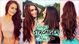 Grow Your Hair Longer and Faster! Natural Tips for Healthy Hair | Jackie Wyers