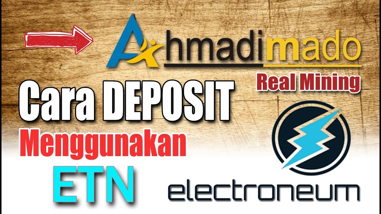 Ahmadimado || Cara Depo/Beli Paket menggunakan ETN ...
