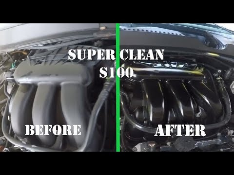 Super Clean the Engine Compartment with S100