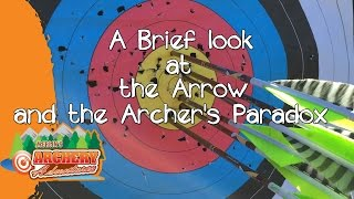 A brief look at the Arrow and the Archer's Paradox
