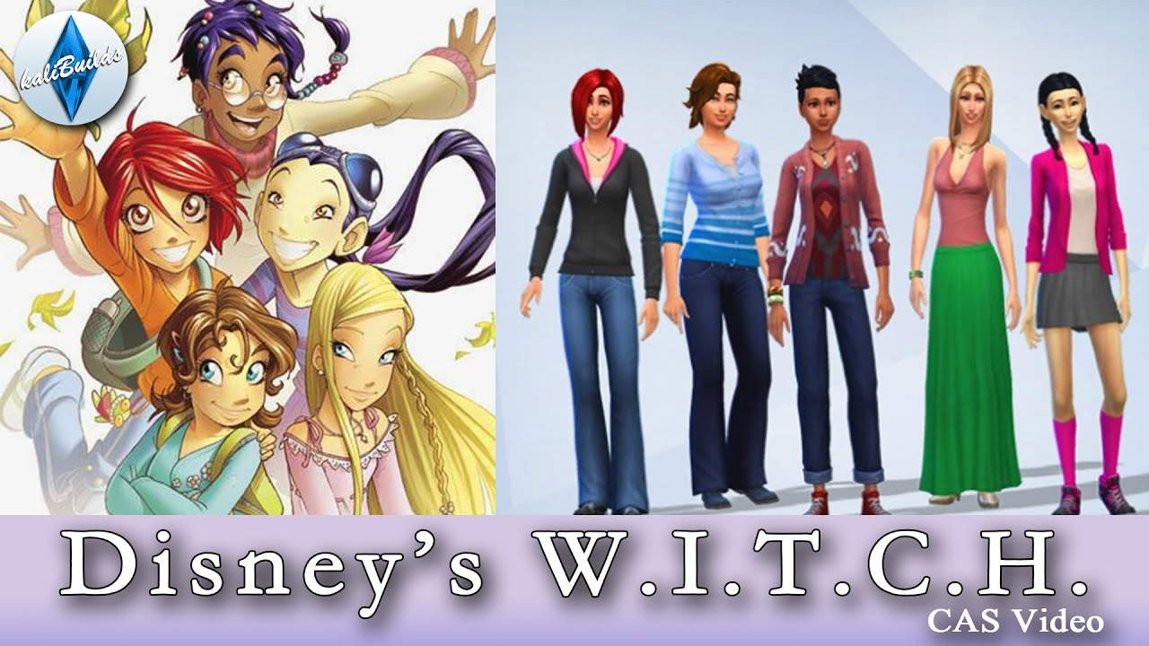 The Sims 4 Cas Disney S W I T C H Youtube