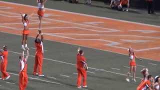 OSU Oklahoma State University Football Cheerleaders