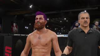 EA SPORTS™ UFC® 2 Carreira #2