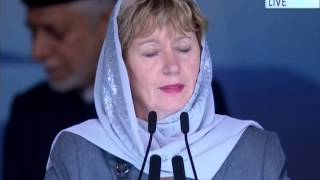 Judy A Sgro, MP York West Ontario, Canada at Jalsa Salana UK 2014